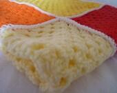 Sunshine Crochet Blanket - lulaveggie
