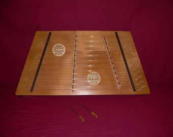 12/11 Hammered Dulcimer in Walnut with Case