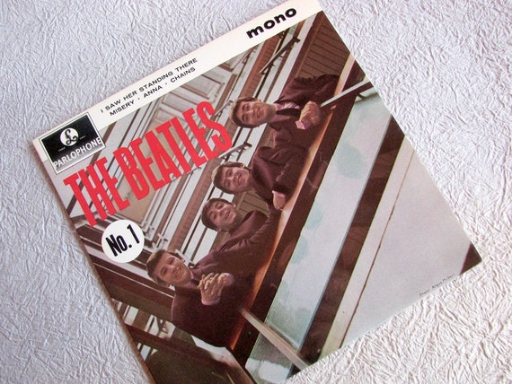 Beatles No. 1 EP UK Parlophone GEP 8883