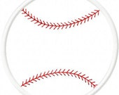 Baseball Softball Digital Embroidery Machine Applique Design 10471