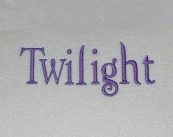 Twilight Embroidery Machine Alphabets Fonts and Monogram Sets 10132