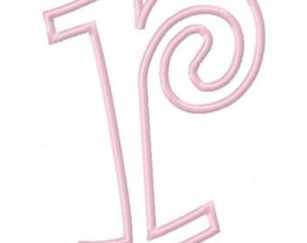 Curlz Lower Case Embroidery Machine Applique Alphabets Fonts and Monogram Sets 10282