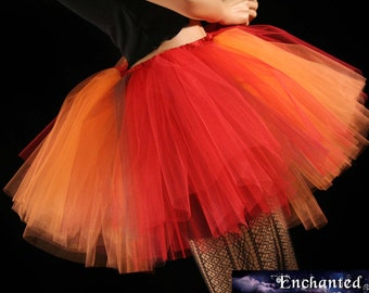 Fall Fairy tutu skirt adult Monster extra puffy dance costume halloween -- You Choose Size -- Enchanted