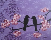 Blossoms XV - 16 x 20 x 7/8 inches - Original Acrylic on Canvas