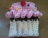 Cutiepie Cupcake Coffee Cozy