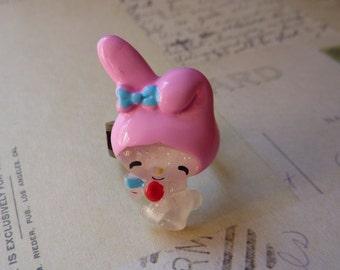 Kawaii Cute Bunny Adjustable Ring