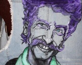 EUGENE HUTZ / Gogol Bordello - Hand Painted Clothing : Made -To - Order