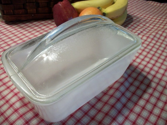 Milk Glass Loaf Pan With Lid Westinghouse