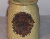 1973 Earthy Textured Signed, Arlene, Studio Art Vase