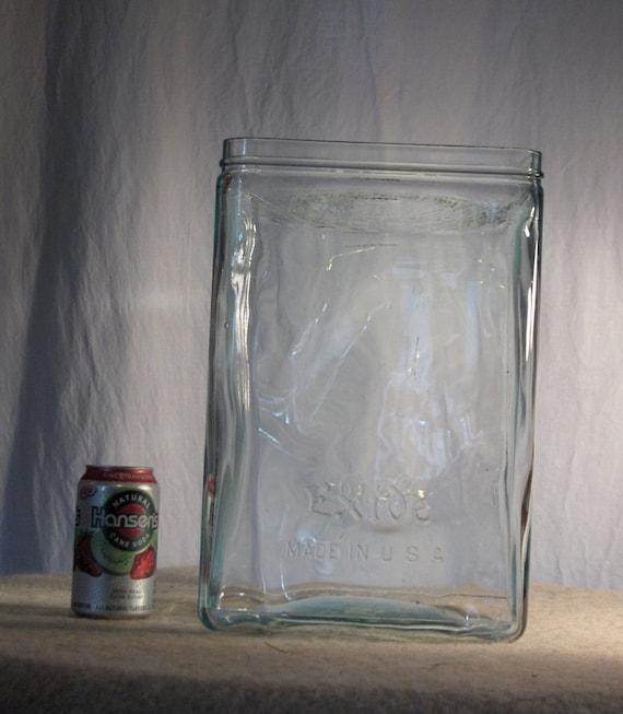 Antique X Large Exide Glass Battery Box