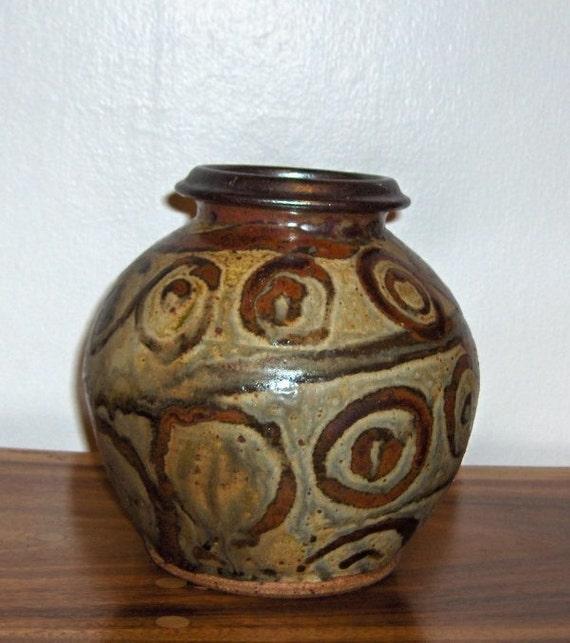 On Reserve! Wonderful Rich Jardiniere Studio Art Pottery Jar, Vase, Vessel by Paul Lambert,  Mt. Angel, OR