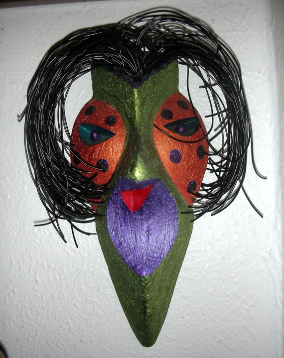 One of Jeff  Zigulis's  first  Dream Masks