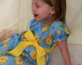 Daddy's Favorite, Handmade Boutique Dress by Sophie Lynn, Little Girls Sizes 18 mo, 2T, 3T, 4T, 5T