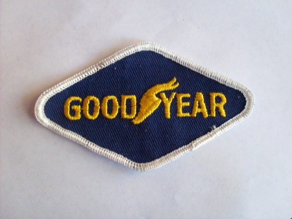 Goodyear  - 1970's New Vintage Patch Applique