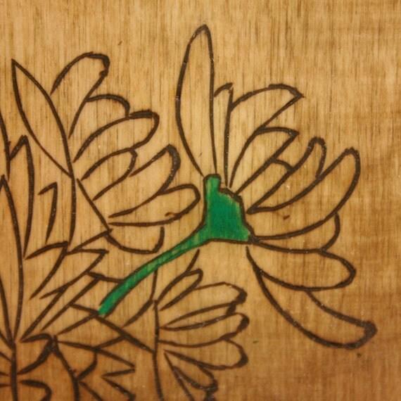 Leaves of Green, Part 2 Encaustic Mixed Media