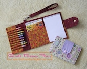 Crayon Wallet PDF sewing tutorial