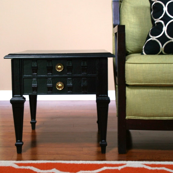 trendy like this item with black end tables