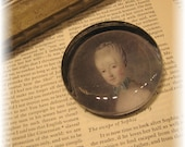 Glass Paperweight  Victorian French theme -  5Dollar