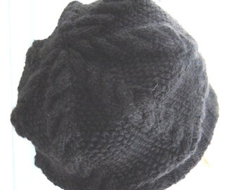 Knitted Hats - White - Gray - Black - Yellow