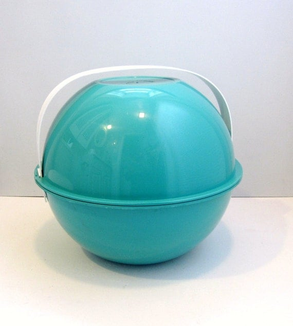 Mid Century Picnic Ball by Ingrid of Chicago