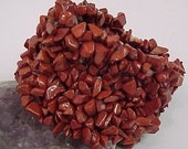 JASPER Crystal Gemstone Bracelet Cuff ORGANIC JEWELRY - Great Bridesmaid Gift -