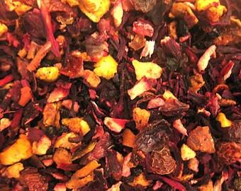 1 oz Cranberry Orange Rooibos Tea