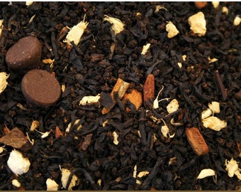 1 oz Dark Chocolate Chai black tea