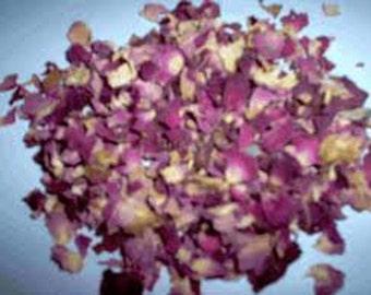 2/3 oz Pink Rose buds and Petals