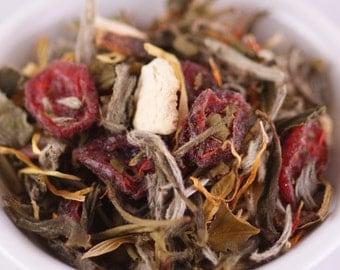 Orange Cranberry Loose White Tea 1oz