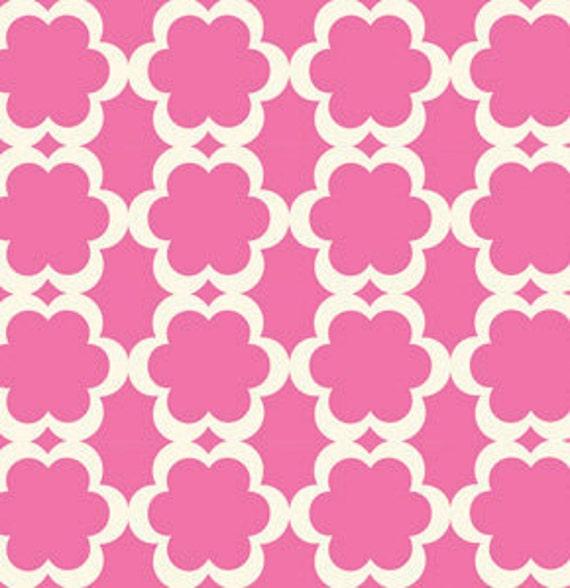 Taza- Tarika in Fuchsia PWDF090Fuchsia by Dena Designs - Fabric -1/2 yard Cotton Quilt Fabric