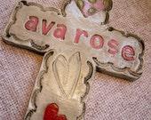 Sweetheart cross for girl