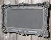 Hollywood Regency Chalkboard OLD WORLD STYLE Chalk board Restaurant Grey French Country Chalkboard