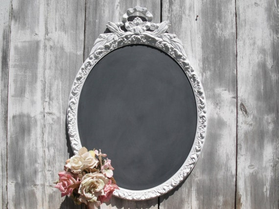 antique chalkboard outdoor wedding spring summer weddings restaurant antique oval chalkboard home decorative ornate - Decorative Chalkboards