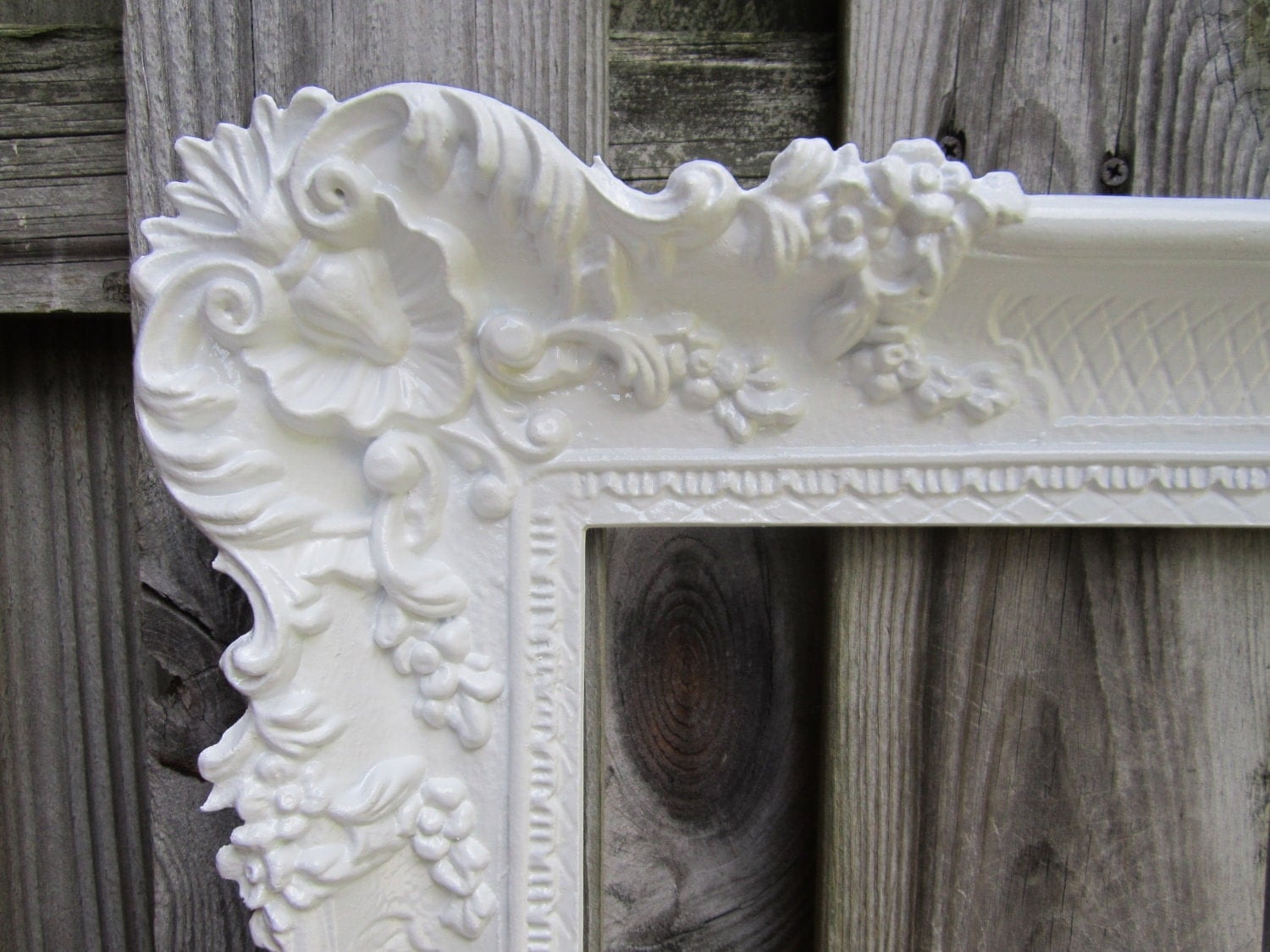 Large picture frame french country frame baroque by for How to make a large picture frame