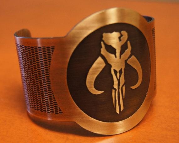 Bronze Mandalorian Cuff