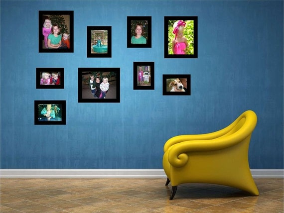 Private Listing for Monica Fox Picture Frames Vinyl Wall Decals Sale