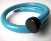 Vintage Knitting Needle Bracelet Bluebird SMALL
