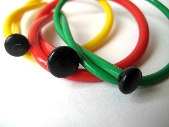 Recycled Vintage Knitting Needle Bracelets Crafty Knots SMALL / MEDIUM