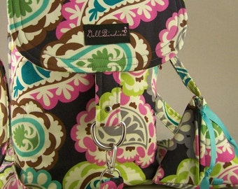 The Original Diaper  Stroller Bag with Matching Paci Pod and Changing Pad