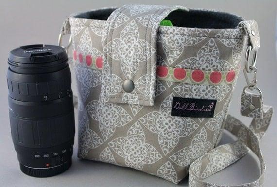 Last One This Fabric Dollbirdies Large SLR/DSLR Camera Bag