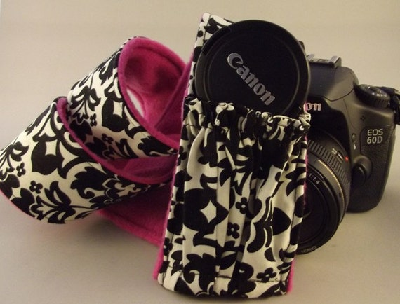 ADD a Lens Pocket to your Dollbirdies Camera Strap Sleeve