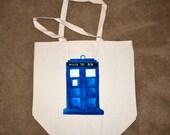 Doctor Who, Tardis Canvas Bag.