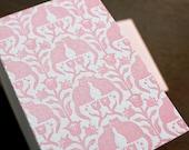 Twin Kittens - Letterpress mini card