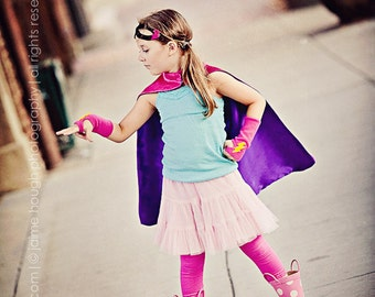 SHIPS FAST - Childrens Capes Blank REVERSIBLE Super Hero Cape - Halloween costume - Ready to ship - Boy or Girl Birthday Gift