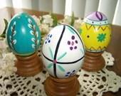 Wiosna Pisanki Easter Eggs set of 3