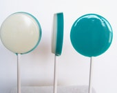 Two Toned Two Flavor Lollipops