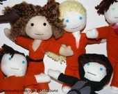 Misfits Tv Series Doll Set - all 6 characters