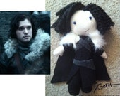 JON SNOW doll (Game of Thrones)