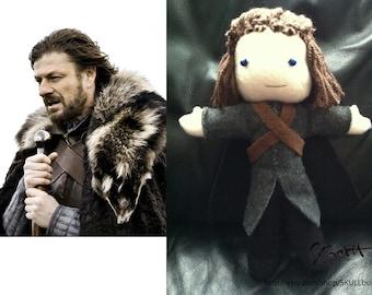 NED STARK Doll (Game of Thrones)