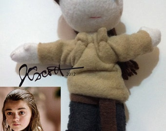Arya Stark Doll - Game of Thrones